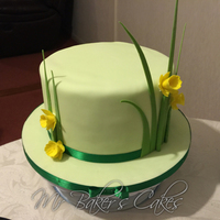 Simple Daffodil Cake