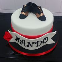 Tango Cake My Brothers Birthday Cake He Dances Tango And Has Bronze Tango Shoes Chocolate Cake With Milk Chocolate And Dulce De Leche Tango Cake. My brother's birthday cake - he dances tango and has bronze tango shoes :)Chocolate cake with milk chocolate and dulce de...