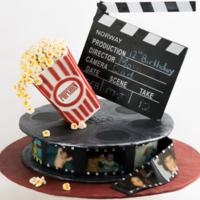 Movie Reel Cakepng