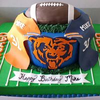 Chicago Bears Cake!