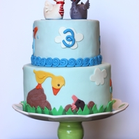 Gosling Cake children's book cake