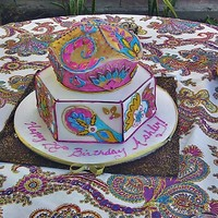 Arabian Nites a very last minute order placed on Thursday, I wish i had more time I would have made it bigger and added more detail...