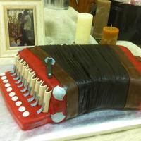 Accordion Cake, Groom's Cake Accordion cake, groom's cake, French accordion