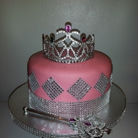 Princess Cake Last minute birthday cake for a 5 year old princess. TFL