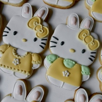 Easter Bunny Hello Kitty Hello Kitty Cookies with Bunny Ears!