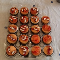 Wound Cupcakes Wound cupcakes