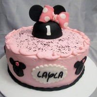 Layla's Minnie Mouse Minnie Mouse for 1st birthday - I always include a 4 inch smash cake for no charge. A great way to market and build PR!
