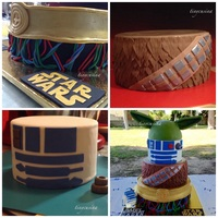 Star Wars taken or re copied from http://de.engadget.com/2012/09/27/star-wars-mashup-cake-krieg-der-kuchen-geht-weiter/ per parents request of the...