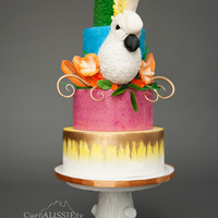 Cockatoo Carnival Cake I did this cake for a Carnival collaboration a few months back. My inspiration picks had a gorgeous float in it with this gigantic Cockatoo...