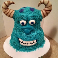 Monsters Inc. This was my first Monsters cake.