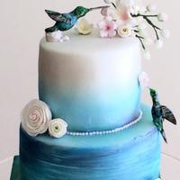 Hummingbird Cake This is a cake I created last year and one of my favourites.