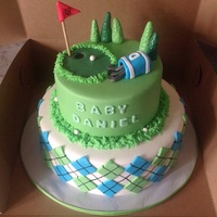 Golf Theme Baby Shower Such a fun idea for a baby shower!