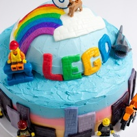 Lego Movie Cake Lego Movie Cake for my son's 6th birthday.