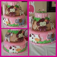 Baby Shower Cake Safari babyshower cake