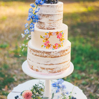 Naked Cake Three tier naked cake