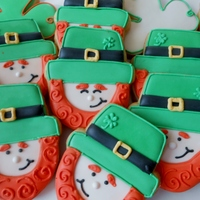 Lucky Leprechauns Sugar Cookies with Royal Icing