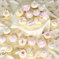 Pearls And Roses Cupcakes Inspired By Cotton&crumbs Pearls and roses cupcakes inspired by cotton&crumbs
