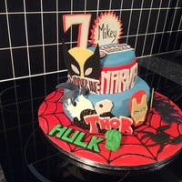 Marvel Cake Superheroes are us!