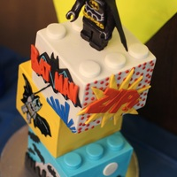 Lego Batman Cake Had a fun time making us Lego Batman cake for my son's seventh birthday. I really want to do vintage 1930s Batman comic, and he really...
