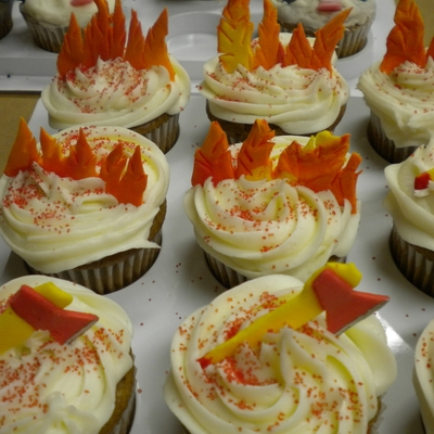 Cupcakes For Fireman's Banquet