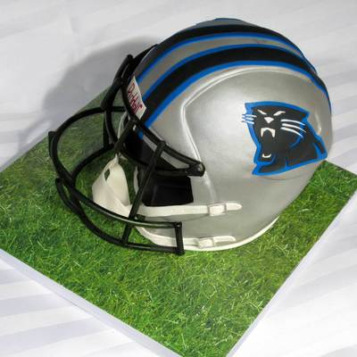 Football Panthers Helmet