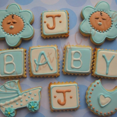 Baby Shower Cookie Favors
