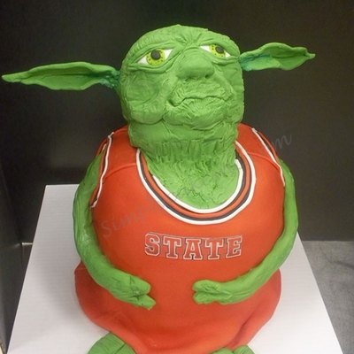 Yoda The Nc State Basketball Player