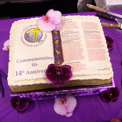 John Chapter 14 (Niv) Created For S. F. Community Fellowship Church 14Th Anniversary