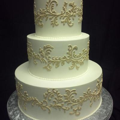 Bc Frosting With Bc Scroll Piping