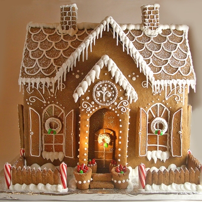 Gingerbread House- 2010