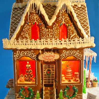 Goodies Bakery Gingerbread House - 2012