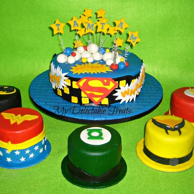 Tamtam's Justice League Themed Cakes