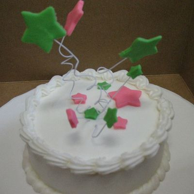 Stars Cake...a Just Because Cake