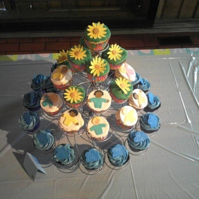 Cupcakes From An Easter Party For Families Of Kids With Autism