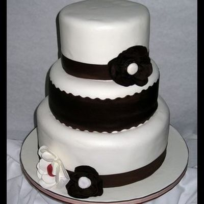 My First Wedding Cake!!!