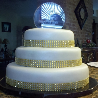 50th Wedding Anniversary Cake Decorating Photos