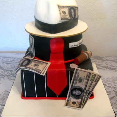 Another Sopranos/gangster Cake
