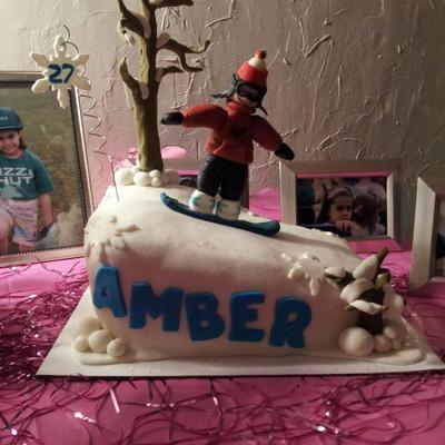 Snowboarding Fun Everything Is Mmf on Cake Central