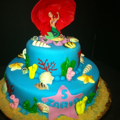 Kittle Mermaid Cake