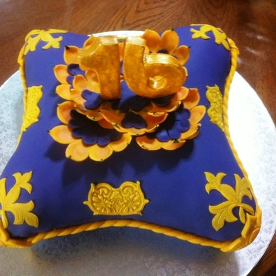 Sweet Sixteen Pillow Cake