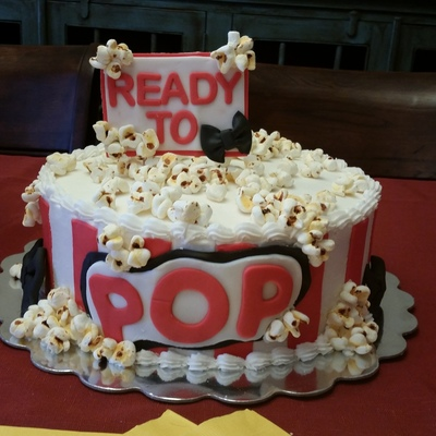 Baby Shower Cake Popcorn That Tastes Like Marshmallows And Look