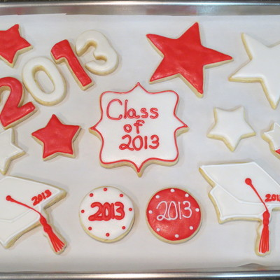 College Graduation Cookies