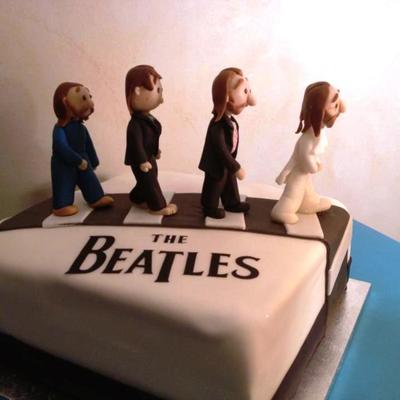 2013 Torta Abbey Road The Beatles4
