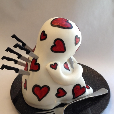 Anti Valentine's Day Cakelet