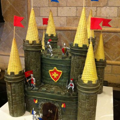 Medieval Fortress Cake