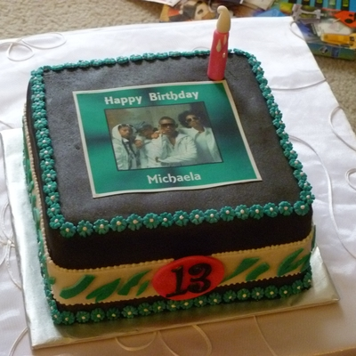 Mindless Behavior Birthday Cake