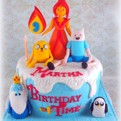 Top Adventure Time Cakes - CakeCentral.com