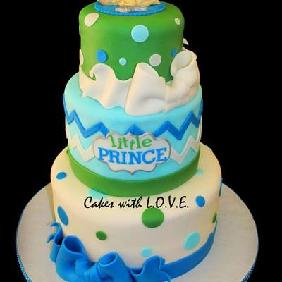 Little Prince Babyshower Cake