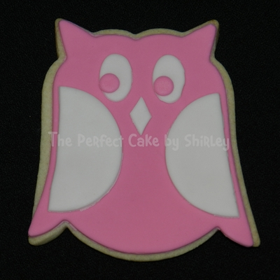 Owl Cookies For Baby Shower Based On The Nursery Bedding Nfsc With Fondant