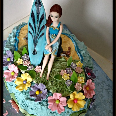 Surfer Girl's 50Th Birthday
